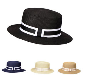 Miuno® unisex Strohhut Sonnenhut Sommer Herren Damen Hut H51067