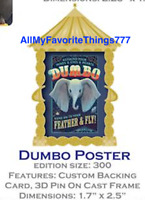 Disney DSSH DSF Magnificent Trading Event Dumbo Poster Pin LE 300