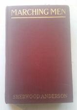 sherwood anderson marching men 1st ed HB 1917 john lane rare prophetic war novel