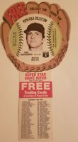 1977 Pepsi Baseball Glove Carl Yastrzemski #23 Boston Red Sox HOF Set Break