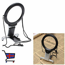 New Large Magnifying Glass LED Lights 6 Giant Magnifier For Reading Sewing