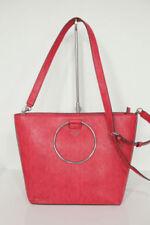 Borse da donna rosse con spallina regolabile PVC
