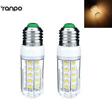 2PCs E27 9 Watt AC 110V LED Corn Bulb Warm White Light Lamp For Home Lighting