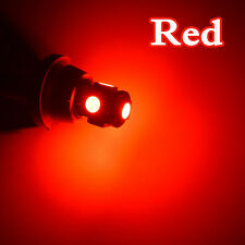 4 Pcs Car Wedge Interior Lamp 2w T10 LED 5050 5smd Canbus Light Bulbs Universal Red Light