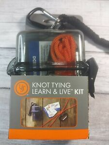 UST Knot Tying Water-Resistant and Durable Emergency Outdoor Learn & Live Kit
