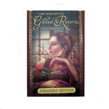 Gilded Reverie Lenormand FORTUNA dicendo a 47 carte HARD BOX Deck espanso