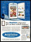 1951 Deepfreeze Refrigerators Appliance Division Chicago IL Vintage Print Ad photo