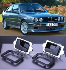 UK STOCK Set Inner Door Handles & Trims RIGHT & LEFT for BMW E30 E28 E24 E23 M5