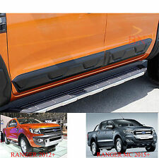 FORD RANGER BODY CLADDING SIDE DOOR BLACK 4 2012-2018 ACCESSORIES EXTRAS MOULDS