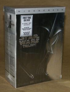 Star Wars Triology    Four DVD Set