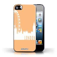 Housses et coques anti-chocs orange iPhone 5 pour téléphone mobile et assistant personnel (PDA) Apple