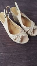 Ladies High Wedge Sandals size 5 by aldo