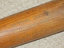 1935 Chicago Cubs World Series Bat Gabby Hartnett Chuck Klein Freddie Lindstrom