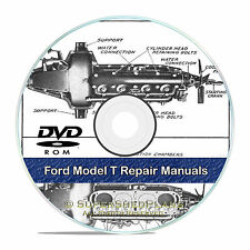 Ford Model T Shop Repair Manuals, Construction, Operation, Guides, CD V48
