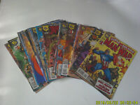 AMALGAM DC / MARVEL Lot of 23 COMIC BOOKS COMPLETE SET All #1 Rare