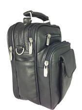 New WOMENS LADIES MENS LEATHER TRAVEL BAG HANDBAG SHOULDER BAG CROSS OVER BAG