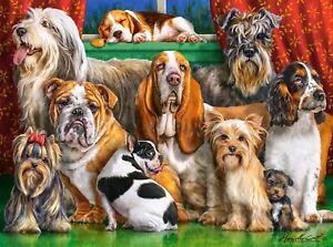 New 3000 Pieces pcs pc Puzzle jigsaw Castorland Dog Club C-300501