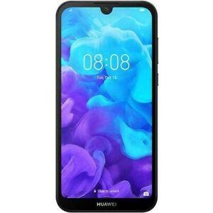 """Huawei Y5 2019 5.71"""" 2/16GB Dual SIM Free Mobile Phone Midnight Black Orig Box A"""