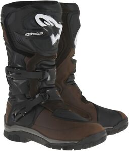 Alpinestars Corozal Adventure Drystar Boots 12 Brown 2047717-82-12