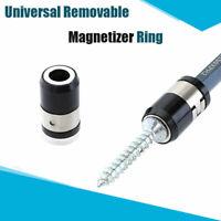 Universal Magnetic Ring Strong Magnetizer Screwdriver Hex Bit Head Lock Screw
