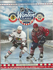 2015 WINTER CLASSIC OFFICIAL PROGRAM BLACKHAWKS VS CAPITALS TOEWS OVECHKIN NEW