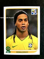 RONALDINHO N° 500 WORLD CUP 2010 BRASIL PANINI 2010 NEUF NEU MINT