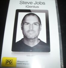 Steve Jobs IGenius / I Genius (Australian Region 4) DVD - New