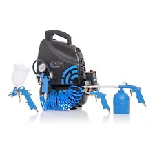 SGS 6 Litre Oil-Less Direct Drive Air Compressor & 5 Piece Tool Kit - 5.7CFM, 1.