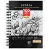 """ARTEZA Sketchbook, 5.5"""" x 8.5"""", 100 Sheets"""