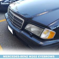 Mercedes Benz C-class W202 Headlight Eyelids Eyebrows 93-00●