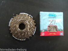 Cassettes y piñones Shimano para bicicletas con 8 velocidades