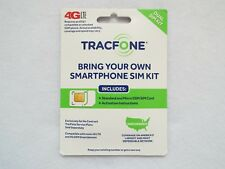 TracFone Dual Sim Card for New Activation,1500min/txt,1. 5Gb Data,1 Year Service