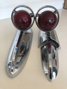 RARE 1955 Chrysler Imperial CHRBQ Tail Lights LH and/or RH sides left right