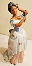 Homco Home Interiors Porcelain Figurine #1431 Dark Skinned Lady Fixing Hair