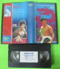 VHS film IL FURORE DELLA CINA COLPISCE ANCORA Bruce Lee SIRIO (F32) no dvd
