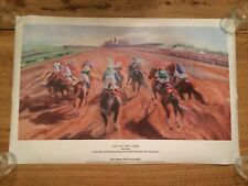 Out Of The Gate - Celeste Susany Kentucky Derby 138 Early Times Poster 24.5 X 16