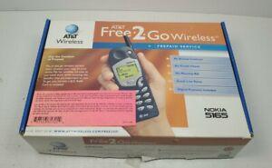 Original Nokia 5165 Cingular AT&T Phone Vintage Brick Phone NOS New