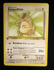Vintage Pokemon Cards 1st Edition Jungle Spanish Rare Kangaskhan 21/64 NM/M