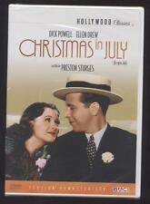 NEUF DVD CHRISTMAS IN JULY 1940 LE GROS LOT DICK POWELL ELLEN DREW HOLLYWOOD