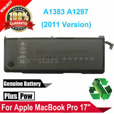 "95WH Genuine Battery A1383(2011) For Apple MacBook Pro 17"" A1297 MC725 MD311"