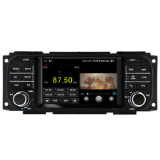 "5"" Android 10 Car Radio GPS Headunit For Jeep Grand Cherokee Dodge RAM Chrysler"