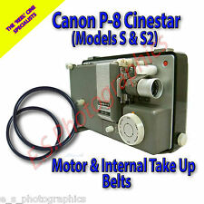 Canon P-8 Cinestar 8mm Projector Belts x 2