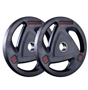 MuscleSquad Olympic Weight Plates