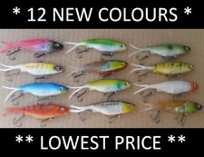 12 Vibe Soft Plastics Fishing Lures 100mm Mullet Barra Jew Trevally FREE SHIPPIN