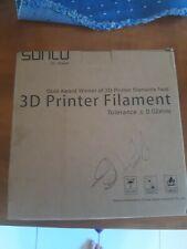 SUNLU  3D Printer Filament  PETG 1.75mm 1kg white new unopened