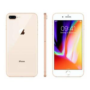 Apple iPhone 8 Plus Gold 64GB 256GB 4G LTE Unlocked Smartphone SIM Free
