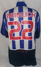 Nike Hertha BSC Berlin Trikot Gr. L 22 Beinlich Saison 2002 - 2004
