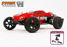 Radio Remote Control RC Car 1/10th Electric Truggy Ready to Run Prime Storm New