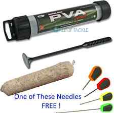 PVA Mesh 25mm 7 Metres Stocking & Plunger and Free Tube Carp Fishing