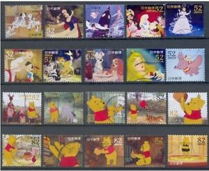 Japan - Walt Disney's characters 2014 two complete series